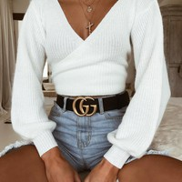 Buy Our Polly Jumper in White Online Today! - Tiger Mist