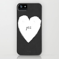 yes! iPhone & iPod Case by Three Lives Left
