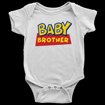 Baby Brother - Toy Story Inspired Baby Bodysuit
