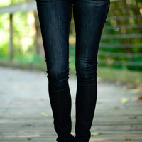 The Kylie Skinny Jean, Dark Denim