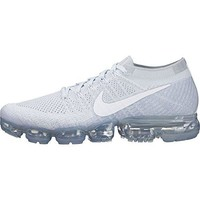 Nike Men's Air VaporMax Flyknit Running Shoe PURE PLATINUM/WHITE-WOLF GREY
