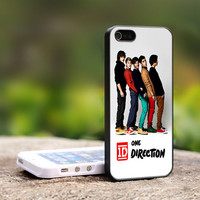 TCA TB011 - One Direction - England British Boys Band -  Print On Hard Cover - For iPhone 4 / 4S Case, iPhone 5 Case ( Black, White, Clear )