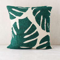 Assembly Home Crewel Palms Pillow | Urban Outfitters