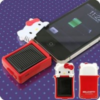Hello Kitty Solar Charge Eco for iPhone 4/3GS