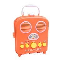 Portable Radio MP3 Speaker Coral Beach Boombox by Sunnylife Australia