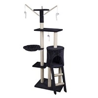 """Tenive 47""""/51""""/ 54""""Cat Tree Condo Furniture Scratching Post Play Tower House"""