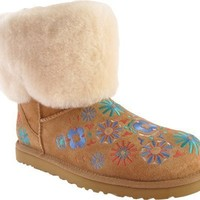 Ugg Ugg Australia Classic Embroidery Mid Chestnut Multi Womens Boot Spring (7)