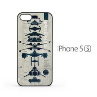 Star Wars Spaceship iPhone 5 / 5s Case