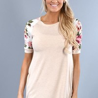 Show Your Best Top ~ Taupe