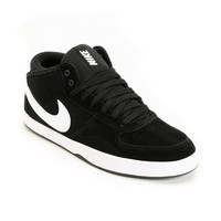 Nike 6.0 Mavrk Mid 3 Black & White Shoe at Zumiez : PDP