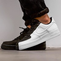 Nike Air Force 1 '07 Split  Air Force 1 Tai Chi Black and White Shoes