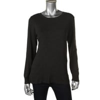 Alfani Womens Knit Solid Pullover Sweater