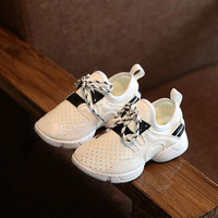 2016 New Autumn Glitter Kids Fit Girl Boy Yeezy Shoes Fashion Sport Shoes Mid-cut Star Sneaker Shoes For Girls 15 Size NMD