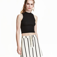 H&M Skirt with Lacing $29.99