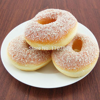 Jumbo Squishy Doughnuts Restaurant Decor Bread Breadcrumb Scented Food Simulation Play house Toy Collectibles