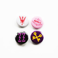 Grand Budapest Hotel Badges Set