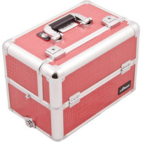 Hot Pink Crocodile Texture, Professional High Quality Makeup Case [Kitchen]
