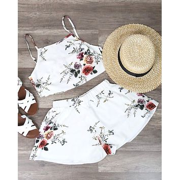 Reverse - Love Beast Set in White Floral
