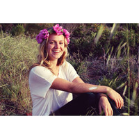 "Spring Clearance Flower Crown - ""Naomi"" , fuchsia peony headband, wedding headpiece"