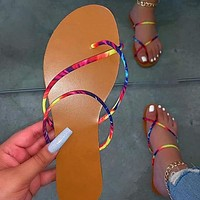 New summer women's slippers beach shoes