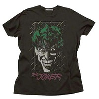 Mens Junk Food The Joker Tee Shirt in Black
