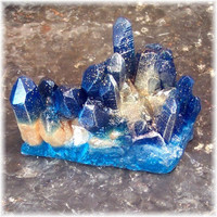 Blue Sapphire Raw Crystal Soap Rock Fresh Scent