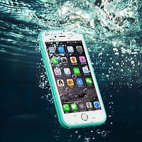 Brand Shockproof Dustproof Underwater Diving Waterproof 360 Full Cover Phone Cases Cover For iPhone 5S 6 6S 6 7 Plus 4.7 inch