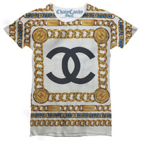 Chain Printed T Shirt