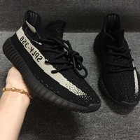 Yeezy 350 V2 Boost Low SPLY Kanye West 2017 Core Oreo BY1604 Size 10 11.5 13