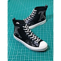Louis Vuitton Lv Tattoo Sneaker Boot Black Sneakers