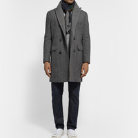 J.Crew - Carpini Double-Breasted Wool-Blend Overcoat | MR PORTER
