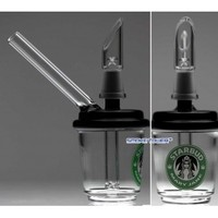 Black Top Mini STARBUD Frapp Bubbler for Oil and Wax