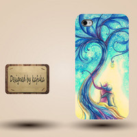 unique iphone case, i phone 4 4s 5 case,cool cute iphone4 iphone4s  5 case,stylish plastic rubber cases cover, girl boy tree  abstract  p948