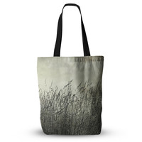 "Iris Lehnhardt ""Summer Grasses"" Neutral Gray Everything Tote Bag"