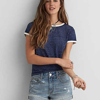 AEO BURNOUT TOMGIRL T-SHIRT