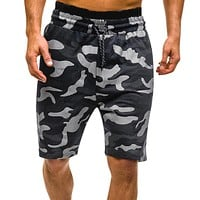 New Men Camouflage Shorts Casual Male Hot Sale Military Cargo Shorts Knee Length Mens Summer Short Pants Homme