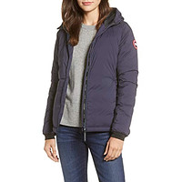 Camp Down Hooded Jacket Navy