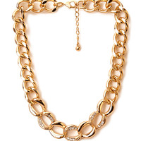 Sparkle and Shine Chain Necklace