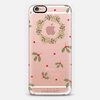 Christmas Holly iPhone 6s case by Annabel Grant | Casetify