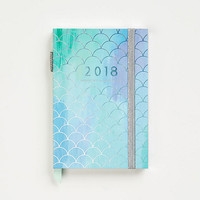 2017-2018 Silver Foil Mermaid Planner