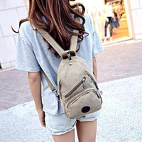 Canvas Backpack Lady Casual Travel Backpacks Stacy Bag New Hot Sale Girl Small 48ZS