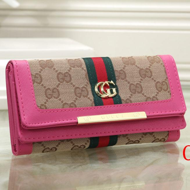 Image of GG Women Fashion Leather Purse Wallet