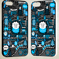 The Fault In Our Star Okay F0050 iPhone 4S 5S 5C 6 6Plus, iPod 4 5, LG G2 G3, Sony Z2 Case