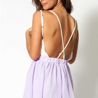 Spring Fling dress in lilac  | Show Pony Fashion online shopping
