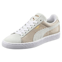 Suede Gold Women's Sneakers, buy it @ www.puma.com
