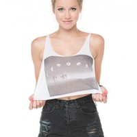 Brandy ♥ Melville |  Dafne Crescent Moon Tank - Clothing