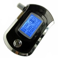 Digital Breath Alcohol Tester LCD Breathalyzer AT6000