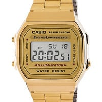 A168WG9-ACasio Gold Digital Watch