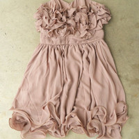 Gathered Ruffles Party Dress [3123] - $28.80 : Vintage Inspired Clothing & Affordable Summer Frocks, deloom | Modern. Vintage. Crafted.