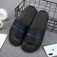 Champion fashion men and women non-slip sandals and slippers new shoes